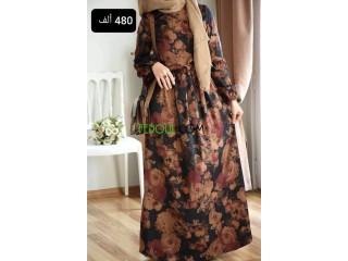 Robe d'hiver pour femme