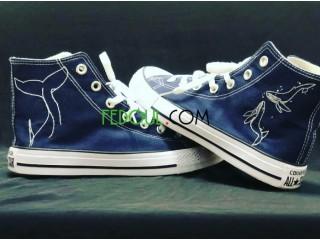 Converse Blue Jeans Theme Ocean