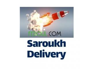 Saroukh Delivery Service de Livraisons colis sur Alger