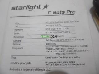 Starlight C Note Pro