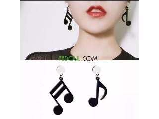 Boucles d'oreille fa-mi-do