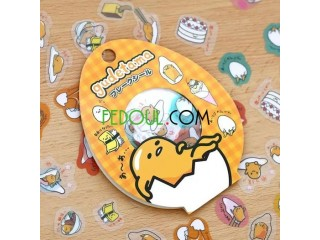 60 stickers/lot de totoro et gudetama