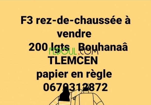 f3-rez-de-chaussee-a-vendre-tlemcen-big-0