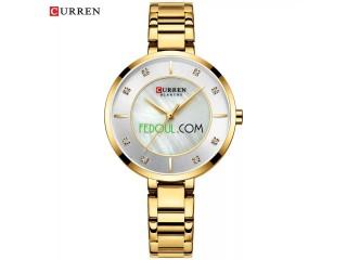 Montre Femme - C9051L - Bracelet Acier Inoxydable - Gold