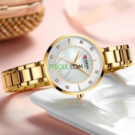 montre-femme-c9051l-bracelet-acier-inoxydable-gold-big-2