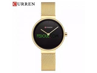 Montre Femme - C9016L - Bracelet Acier Inoxydable - Gold Noir