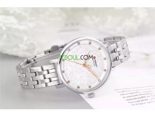 Montre Femme - C9046L - Bracelet Acier Inoxydable - Argent