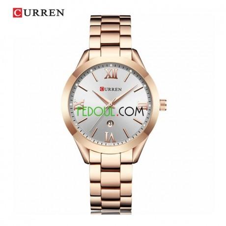 montre-femme-c9007l-bracelet-acier-inoxydable-rose-gold-blanc-big-1