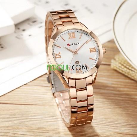 montre-femme-c9007l-bracelet-acier-inoxydable-rose-gold-blanc-big-2