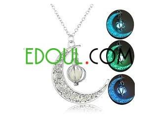 Collier Lumineux Lune (Argent)