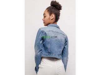 Veste en jean bleu hm originale