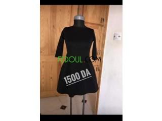 Une robe noire