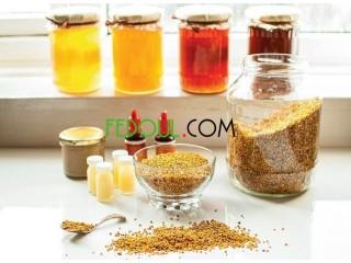Ventes produits de la ruche ( miel, pollen, chahda, gelée royale. )