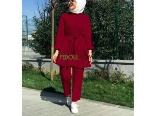 Ensemble Hidjab Turque