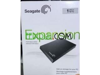 Dique dur externe Seagate 1 TO