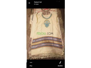 Robe tunisiene pour fille