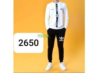 Turkish Adidas (تجميعة (قميص+سروال
