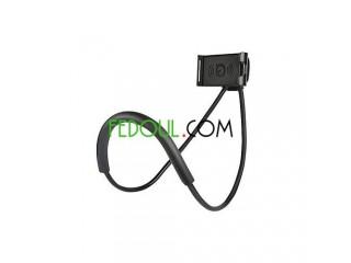 Support Téléphone Collier - Flexible & Rotatif 360°