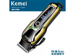 Tondeuse kemei rechargeable