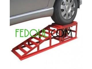 Rampe de voiture hydraulique avec une fonction de levage