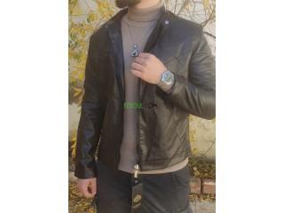 Vest semi cuire cotton
