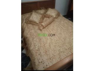 Couvre lit et drap