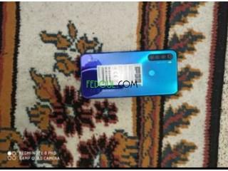 Redmi note 8 couleur bleu haba n9iya blbezzzf