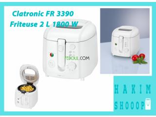 Clatronic FR 3390 Friteuse 2 L 1800 W