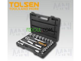CAISSE DE DOUILLE 1/2 22PCS produit originale tolsen