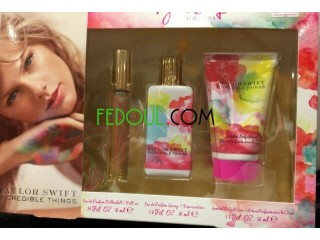 Taylor Swift INCREDIBLE THINGS Coffret cadeau