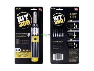 Bit 360 – Tournevis 6 en 1