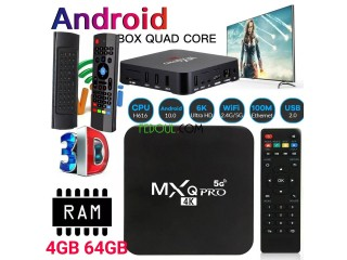 Box de tv 64gb 4gb Android 10