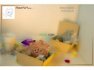 Boxes cadeaux bougies parfumées