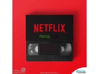 Netflix(3 Mois avec 2500DA)