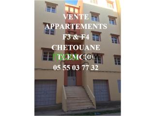 Vente Appartement F4 & F3 Tlemcen