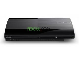 PS3 Ultra Slim flaché Disque dur :500Go 8 Jeux