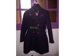 Manteau cachemir