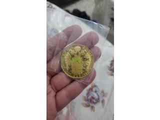 Piece d'or 13,9 gr 24 carats