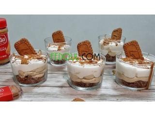 Desserts: crème/ mousse /tiramisou