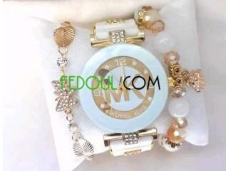Coffret pour femmes montres avec des bracelets