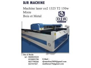 MACHINE LASER CO2 1325 T2 150W MIXTE BOIS ET METAL.