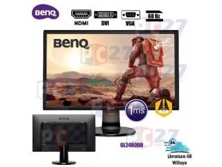"ECRAN 24"" BENQ LED - GL2460BH DVI HDMI VGA + H.P 60HZ"