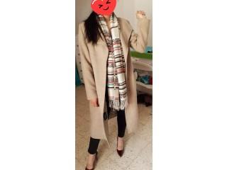 Manteau beige taille 42