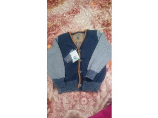 Tricot ou jacket colle V monches longs