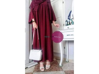 Robe hijab