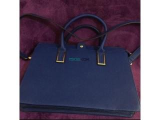 Sac / pochette laptop bleu original lydc