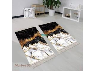 Tapis salon / chambre + décent de li + tapis couloir