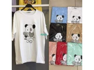 """T-shirt over size, très bonne qualité, Coton 100% """"Made in Turkey"""""""