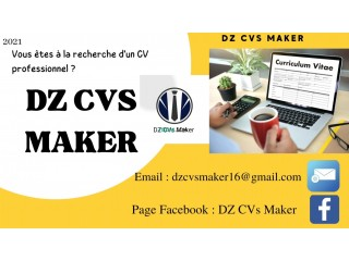 Rédaction & Design Curriculum Vitae { CV }