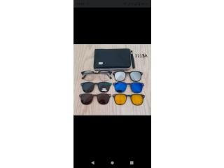 النظارات الشمسية 6 في1